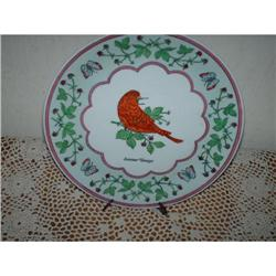 Summer Tanager  Collector Plate #860529