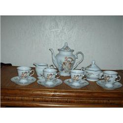 Porcelain Cheribum Tea Set #860534