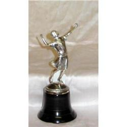 Art Deco Silverplate Tennis Trophy #860537