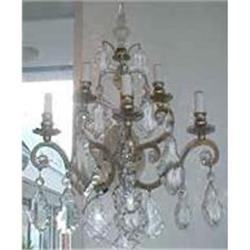 PAIR OF CRYSTAL SCONCES #867179