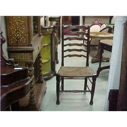 SET OF LADDERBACK DINING CHAIRS #867189