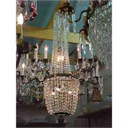 EMPIRE STYLE CRYSTAL CHANDELIER #867196