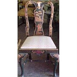 Set of Eight Chinoisserie Dining Chairs #867200