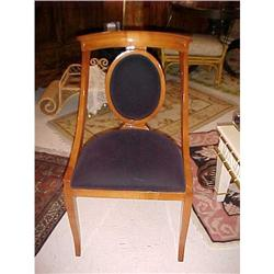 Set of Eight Biedermeier Style Dining Chairs #867201