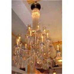 Crystal and Polished Chrome Chandelier #867212