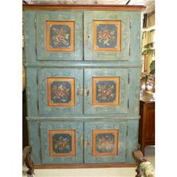 Painted armoire a feu #867221
