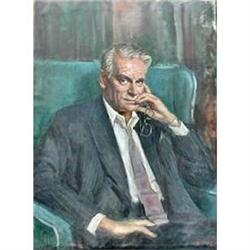 Portrait of Sir Laurence Olivier (1907-1989) by #867246