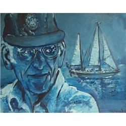 Portrait of Sir Francis Chichester (1901-1972) #867258