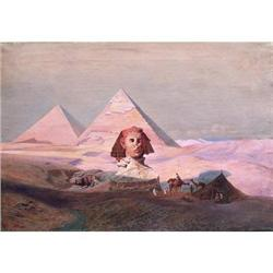 The Pyramids at Gezeh, painted by H Vogel #867264