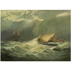 Lifeboat to the Rescue, Willaim Broome 1838-92 #867282