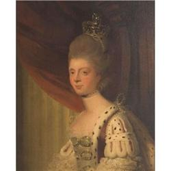 Portrait of Queen Charlotte, by Philip Reinagle #867284