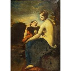 Mother and Child, by William Etty RA 1787-1849 #867285
