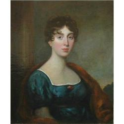 Portrait of Mrs. Wright Hill by George H Harlow #867290