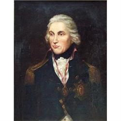 Portrait of Vice Admiral Horatio Lord Nelson, #867295
