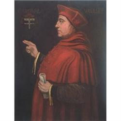 Portrait of Cardinal Woolsey , 19th Century #867297