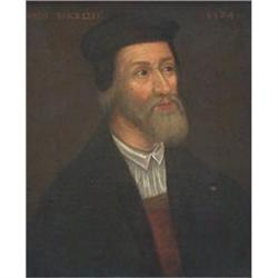 Portrait of John Wycliffe  1320-1384, painted #867305