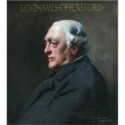 Portrait of  Sir Henry James, first Lord James #867310