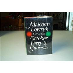Book-October Ferry To Gabriola By Malcolm Lowry #862749