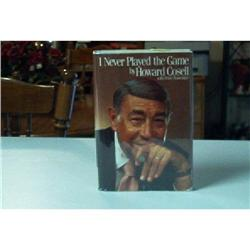 BOOK-I Never Played The Game - Howard Cosell  #862792