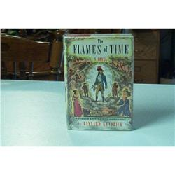 Book-The Flames Of Time By Baynard Kendrick #862801