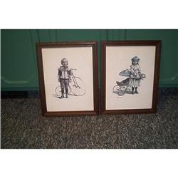 Art-Two Framed Prints-Joanne #862862