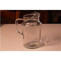 Clear Swirled Pitcher #862864