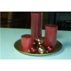 Holiday Time Candle Centerpiece-Reduced #862883