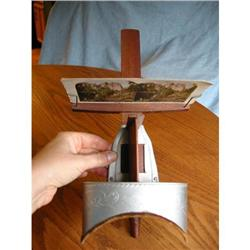 Patented Antique Underwood Stereo Viewer and #862995