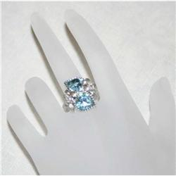 Signed Vintage Sarah Coventry Love Story Ring #863016