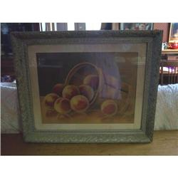 Early Basket of Peaches Print? #863189