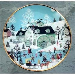 """""""Moonlight Gathering"""" Limited Edition Plate #863220"""