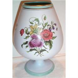 Gouda Floral Decorated Footed Vase #863381