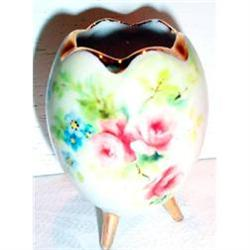 Hand Painted Limoges Egg Shaped Toothpick #863390
