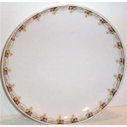KPM Germany Rose Decorated Plate #863392