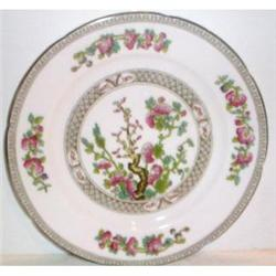 English Indian Tree Decorated Porcelain Plate #863400