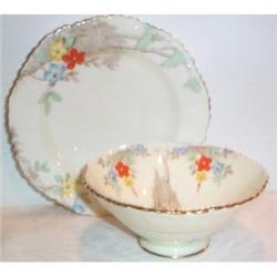 Royal Staffordshire Footed Mayonnaise and Plate #863401