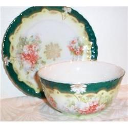 Austrian Porriage Bowl and Underplate #863428