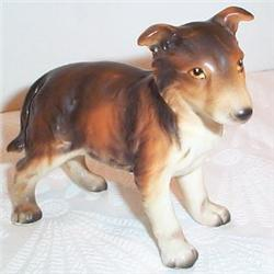 National Pottery Playful Pup Figurine #863650