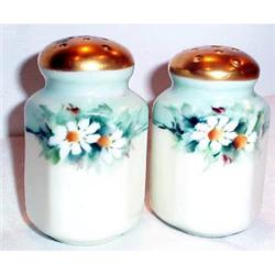 Hand Painted Daisy Decorated Nippon Shakers #863654