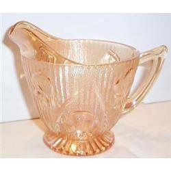 Iris and Herringbone Iridescent Creamer #863690