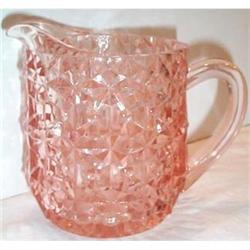 Pink Holiday Buttons and Bows Milk Pitcher #863693