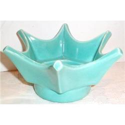 Miramar Turquoise Star Shaped Bowl #863697