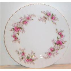 Two Royal Albert Lavender Rose Decorated Plates #863703