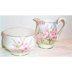 Royal Albert Blossom Time Cream and Sugar #863714