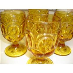 AMBER LACE GOBLETS #863742