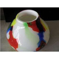 Miro inspired Italian Glass Vase #863755
