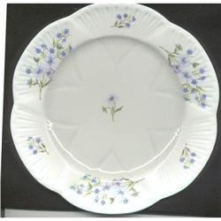 "SHELLEY ""BLUE ROCK"" SALAD PLATE #863917"