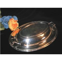Inernational Silverplate Veg. Serving Dish #863927