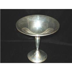 Wallace Sterling Silver Compote,  #863928