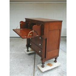1830 Cherry Butlers Chest with Interior Desk  #878542